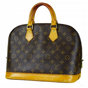 ORIG. LOUIS VUITTON ALMA MONOGRAM CANVAS Handtasche Bag / GUTER ZUSTAND