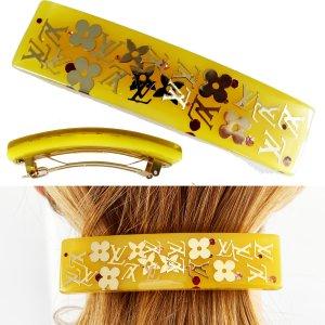 ORIG. LOUIS VUITTON BARRETTE LOGO HAARSPANGE Hair / SEHR GUTER ZUSTAND / AUSVERK.