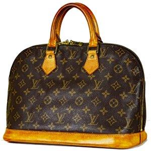 Orig. Louis Vuitton Cabas Alma Handtasche Monogram Canvas Jlassiker Bag Luxus / Guter Zuszand
