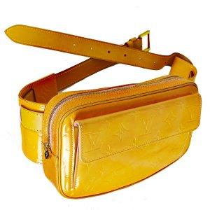 Louis Vuitton Banane orange cuir