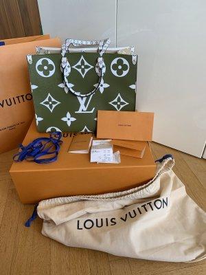 Orig LOUIS VUITTON Giant LV Monogram Onthego limitiert wNeu Tasche Shopper neverfull LV