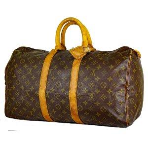 Louis Vuitton Bolsa de gimnasio marrón