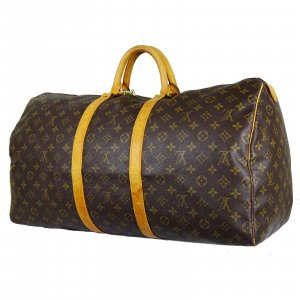 ORIG. LOUIS VUITTON KEEPALL 55 REISETASCHE MONOGRAM CANVAS HANDGEPÄCK / GUT