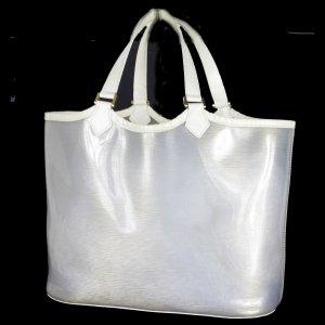 ORIG. LOUIS VUITTON LAGOON GM Beach Plage Strand-Tasche vinyl Leder / SEHR GUTER ZUSTAND