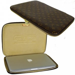 ORIG, LOUIS VUITTON Laptop Hardcase Case 13 bis 15 Zoll Laptop Monogram / NEUWERTIG