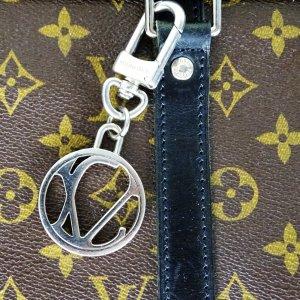 Louis Vuitton Key Case silver-colored