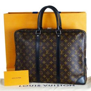 Louis Vuitton Porte-documents brun-noir