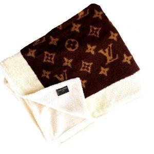 Orig Louis Vuitton Monogram Strandlaken Badetuch Beach Towel Blanket Pool Bath NEU!!!