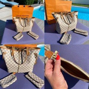 Orig.Louis Vuitton Neverfull MM+Accessoires