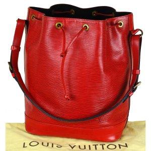 Louis Vuitton Bolso tipo marsupio rojo neón Cuero