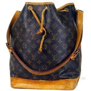 Orig Louis Vuitton Sac Noe Beutel Gross Klassiker Monogram Canvas Tasche Bag / Gut