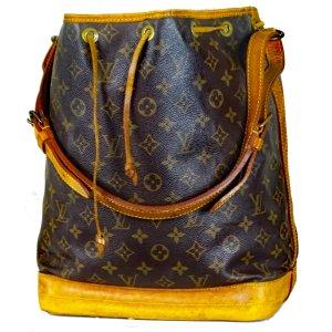 Orig Louis Vuitton Sac Noe Beutel Gross Monogram Canvas Tasche Bag / Guter Zustand