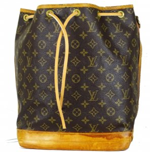 ORIG. LOUIS VUITTON SAC NOE GROSS MONOGRAM Beutel Handtasche