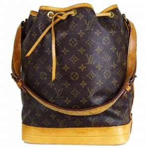ORIG. LOUIS VUITTON SAC NOE GROSS MONOGRAM Beutel Handtasche / TOP ZUSTAND
