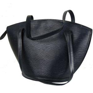 Louis Vuitton Torba shopper czarny Skóra