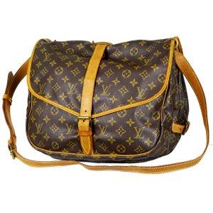Orig. Louis Vuitton Saumur 35 XL-Messenger Bag Schultertasche Satteltasche GROSS / GUTER ZUSTAND