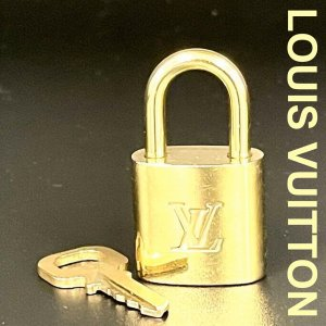 Orig. Louis Vuitton Schloss No.316 Lock Padlock Cadena Speedy Alma Keepall Sirius /TOP
