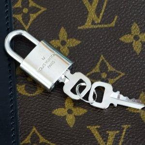 Louis Vuitton Bolso de viaje color plata metal