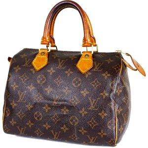 ORIG. LOUIS VUITTON SPEEDY 25 MONOGRAM CANVAS Handtasche Handbag / GUTER ZUSTAND