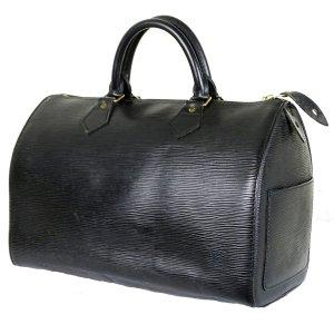 ORIG. LOUIS VUITTON SPEEDY 30 EPI-LEDER SCHWARZ Handtasche Handbag / GUTER ZUSTAND
