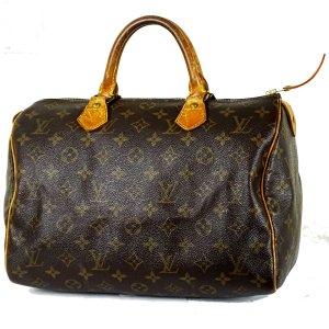 ORIG. LOUIS VUITTON SPEEDY 30 MONOGRAM CANVAS Handtasche Handbag Klassiker / GUTER ZUSTAN