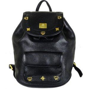 MCM Shoulder Bag black leather