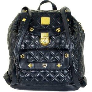 MCM Traditional Bag black leather