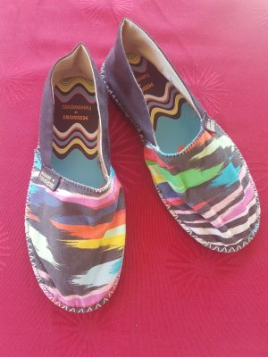 Missoni Espadrille Sandals multicolored