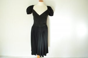 ORIG. PRADA Abendkleid mit betonten Armen NEU! D 36-38 IT 44 Kleid