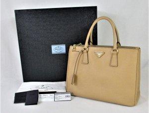 """Orig. Prada """"Galleria"""" Handtasche/Farbe Noisette/ 100% Saffiano Lux-Kalbsleder/ WIE NEU!"""