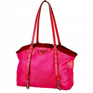 Prada Shoulder Bag pink nylon