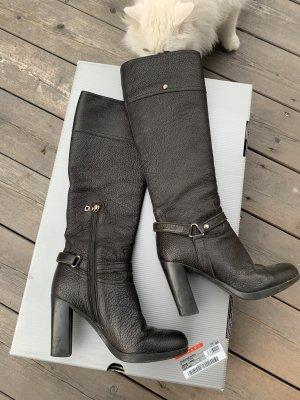 Orig. Prada Stiefel Boots schwarz soft calf Gr 36,5