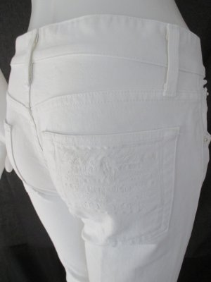 Ralph Lauren Capris white-silver-colored cotton