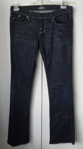Rock & Republic Jeansy o kroju boot cut ciemnoniebieski Bawełna