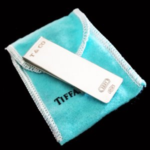 Tiffany&Co Wallet silver-colored real silver