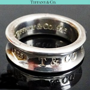 ORIG. TIFFANY & Co. 1837 RING 925 Sterling Silber EU50 US5,5 / GUTER ZUSTAND