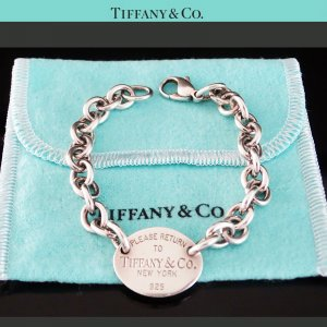 ORIG TIFFANY & Co.ARMBAND RETURN TO TIFFANY 925 Silber MASSIV / SEHR GUTER ZUSTAND