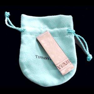 ORIG. TIFFANY & Co. ATLAS MONEY CLIP GELDKLAMMER 925 Sterling Silber / GUTER ZUSTAND