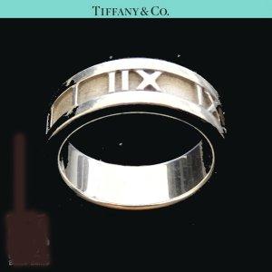 ORIG. TIFFANY & Co. ATLAS RING 925 Sterling Silber EU50 US 6.8 / GUTER ZUSTAND