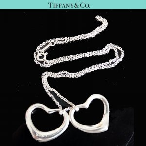 Tiffany&Co Collier Necklace silver-colored real silver