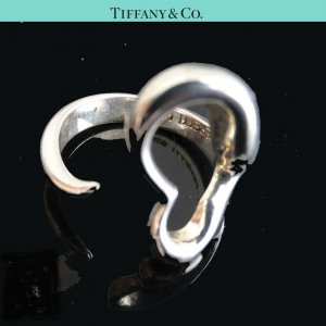 ORIG TIFFANY & Co. PERETTI OPEN HEART RING 925 SILBER EU52 US 6.8 NP € 320/ TOP