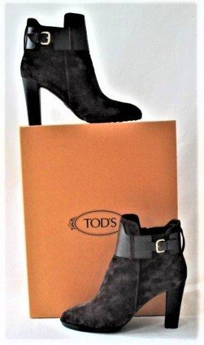 """Orig. Tods Ankle boots/ Stiefeletten/feinen Veloursleder/""""Testa Moro"""" Braun / WIE NEU!"""