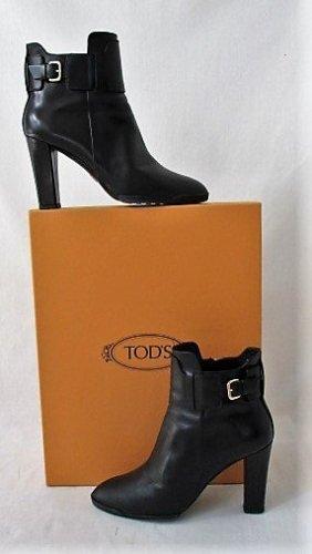 Orig. Tods Ankle boots/ Stiefeletten/feinen Ziegenleder/schwarz / WIE NEU!