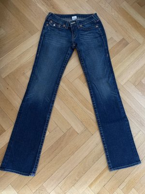 Orig TRUE RELIGION Jeans Billy mother blau 28 jades wNeu 309€