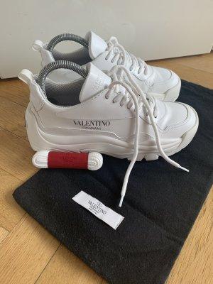 Orig VALENTINO GARAVANI Sneaker weiß GUMBOY Leder wNeu 36(37) NP570€ inkl RG