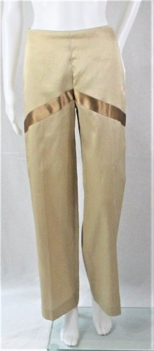 Valentino Roma Marlene Trousers camel-sand brown