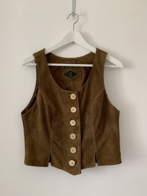 Leather Vest brown