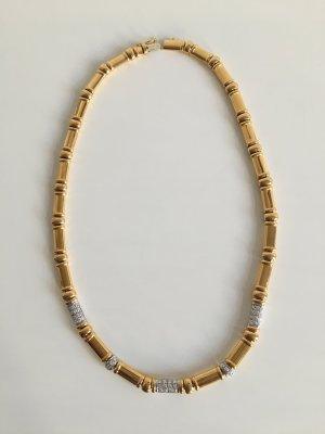 Orig. Wempe Collier Gold Diamanten Brillanten Kette Goldkette
