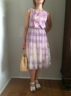 Vintage Petticoat Dress multicolored polyester