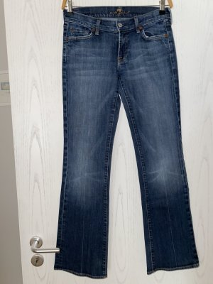 Original 7 for all Mankind Jeans Bootcut Gr. 28